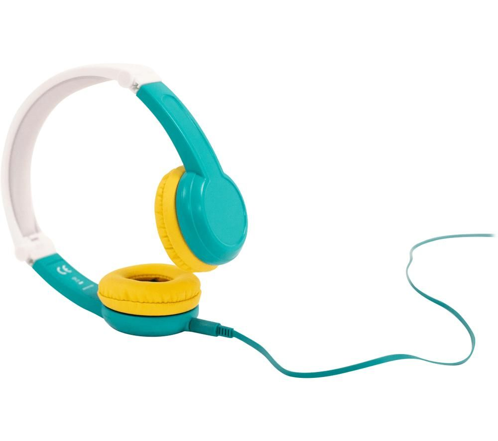 LUNII Octave Kids Headphones - Yellow, White & Blue