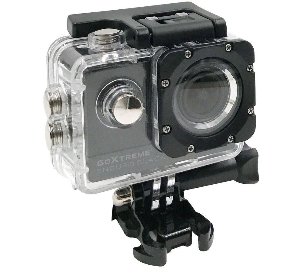 GOXTREME Enduro Black 4K Ultra HD Action Camera - Black