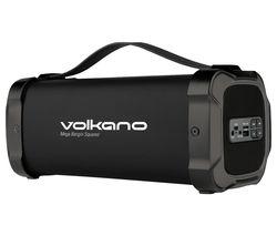 Mega Bangin Series VK-3303-BK/BN Portable Bluetooth Speaker - Black