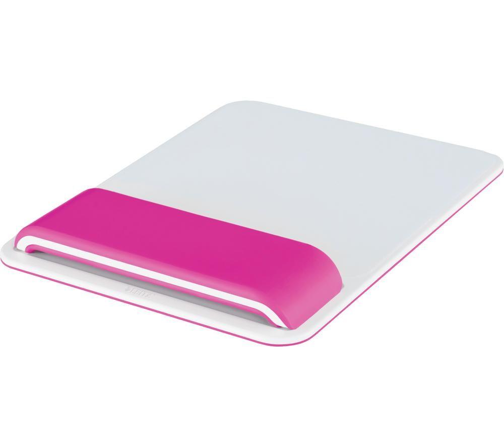 LEITZ Ergo WOW Mouse Mat - Pink