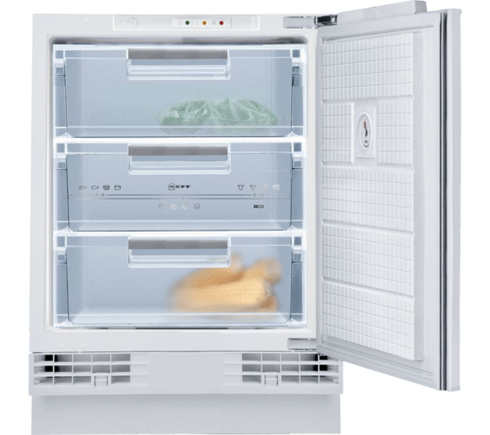 NEFF N50 G4344XFF0G Integrated Undercounter Freezer