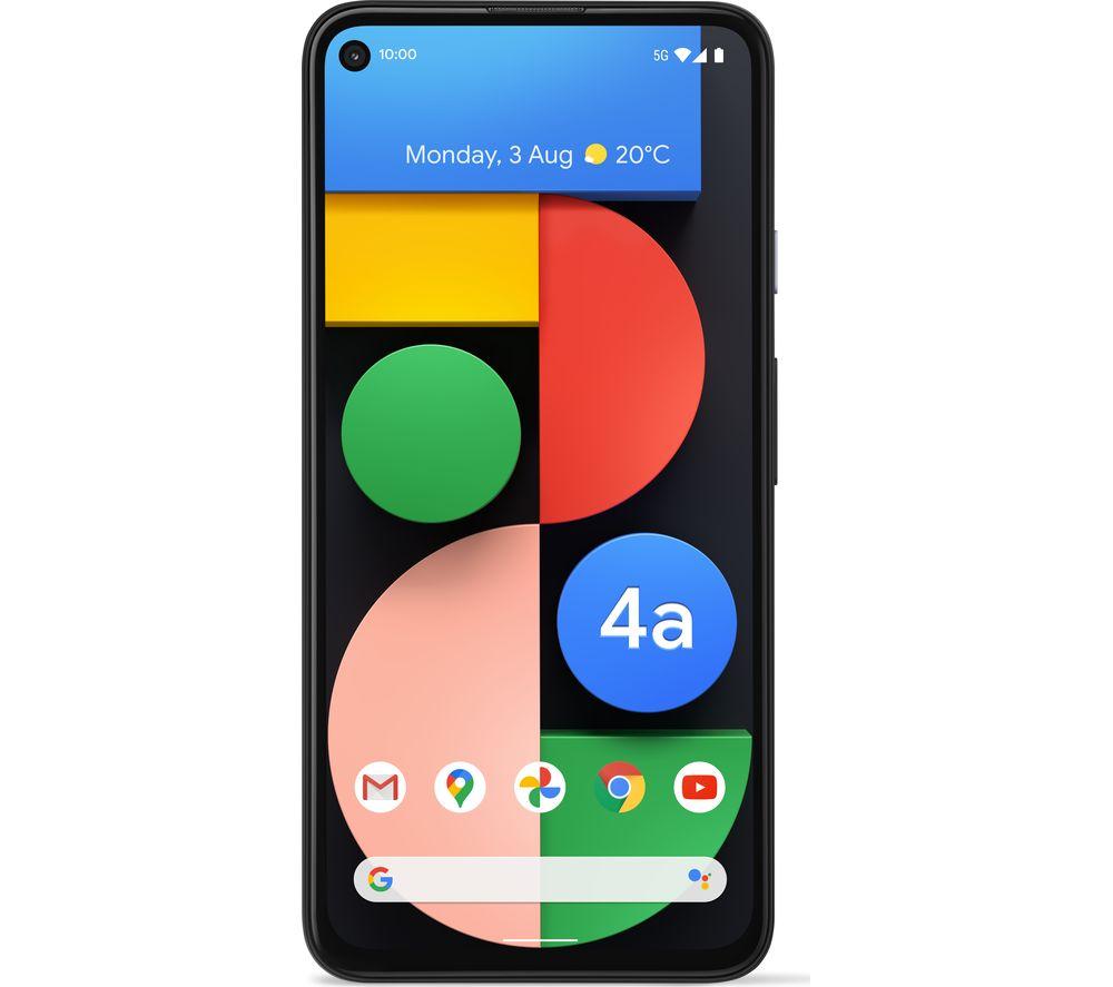 GOOGLE Pixel 4a 5G - 128 GB, Just Black
