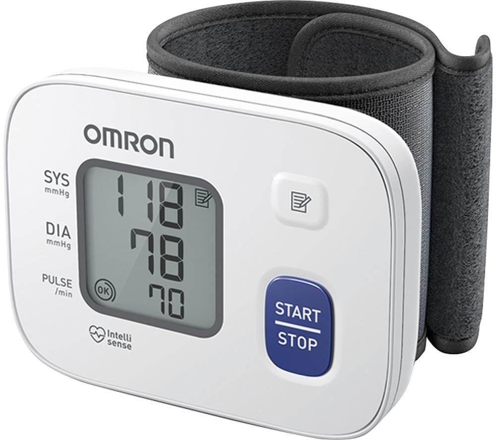 OMRON RS2 HEM-6161-E Wrist Blood Pressure Monitor
