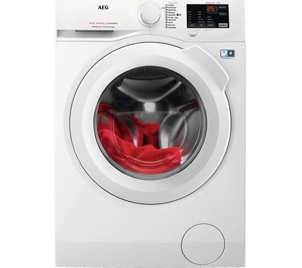 AEG ProSense L6FBJ741N 7 kg 1400 Spin Washing Machine - White