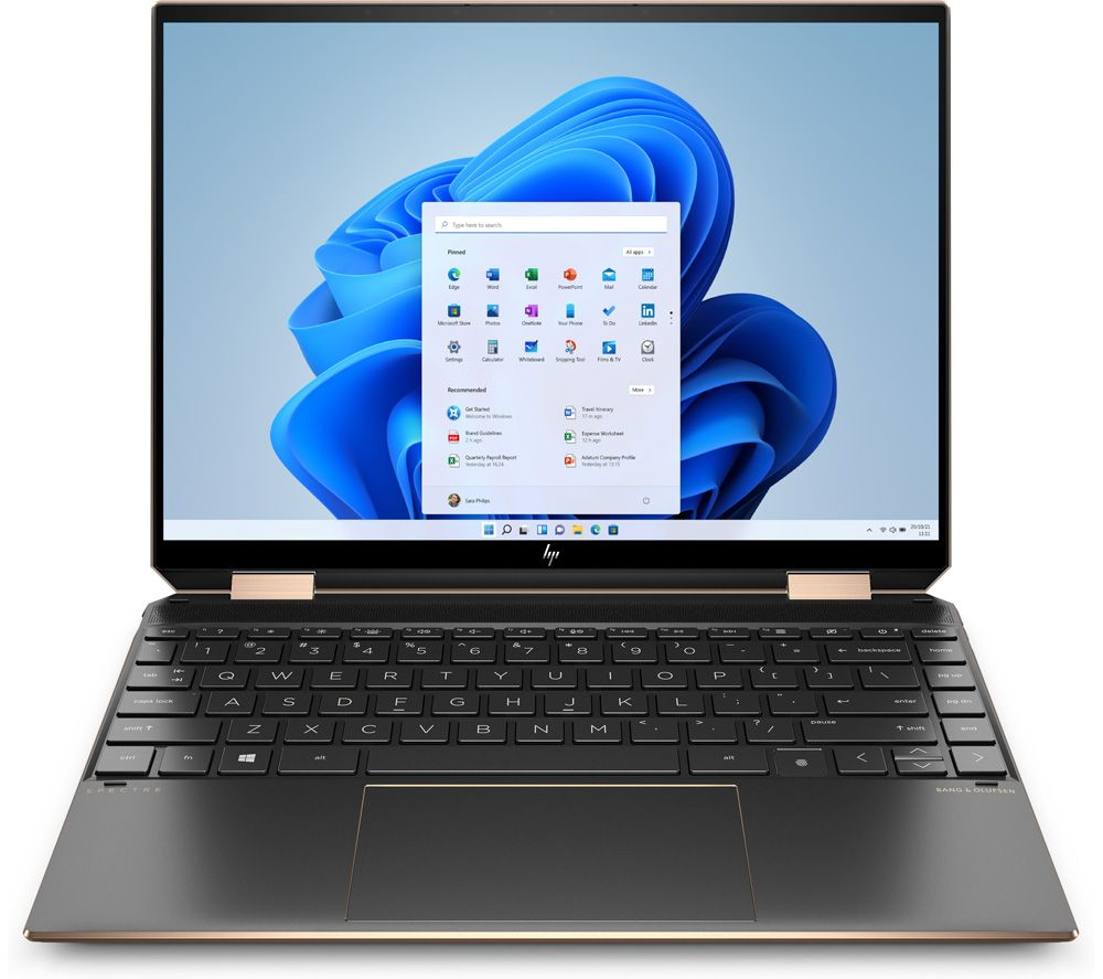 "Image of HP Spectre x360 13.3"" 2 in 1 Laptop - Intel®Core™ i7, 512 GB SSD, Black, Black"