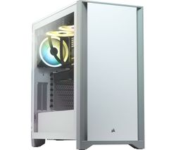 4000D Tempered Glass Mid-Tower ATX PC Case - White