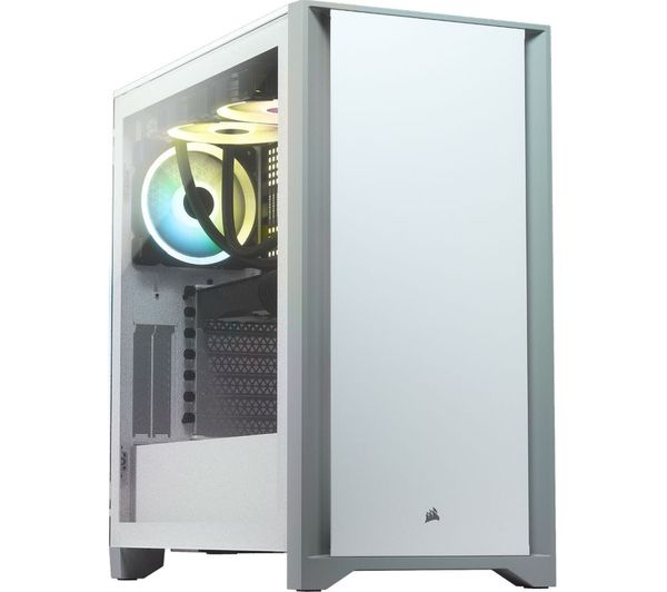 Image of CASE ATX 4000D White Window RGB