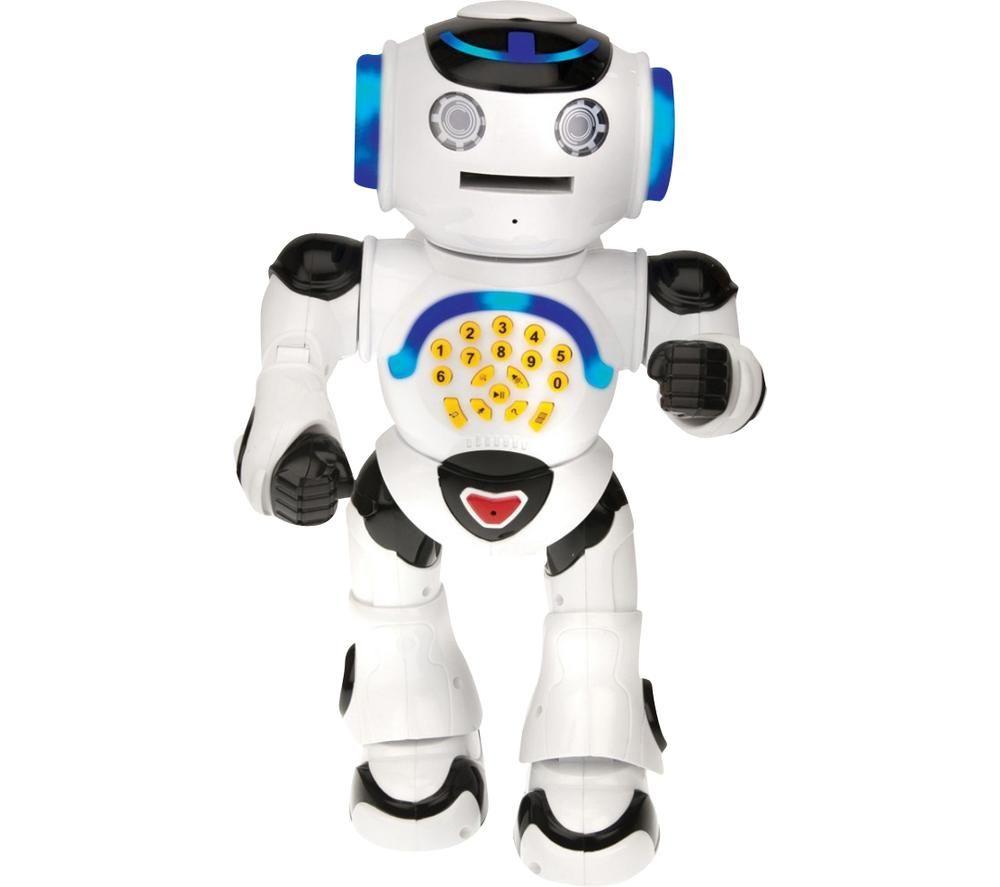 LEXIBOOK Powerman Educational Robot - Black & White, Black