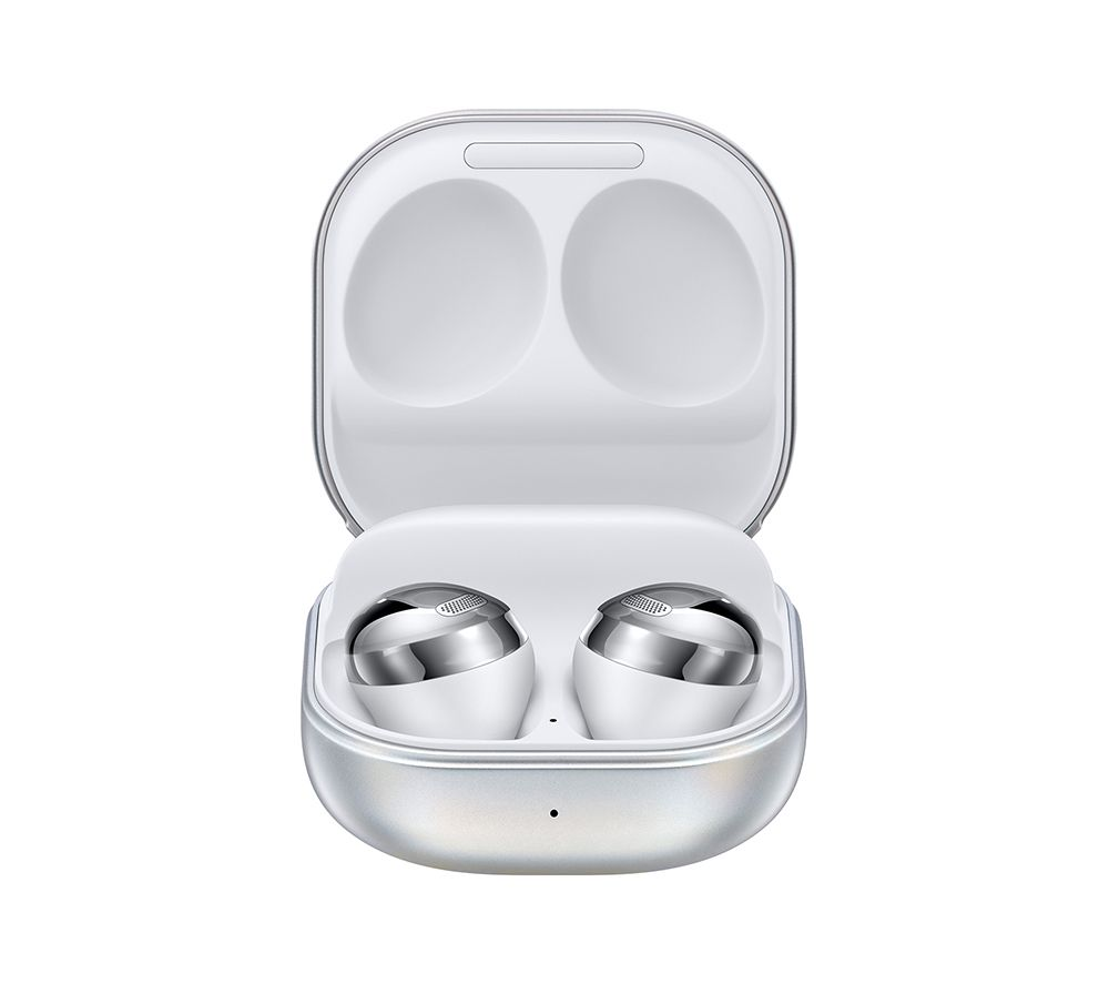 SAMSUNG Galaxy Buds Pro Wireless Bluetooth Noise-Cancelling Sports Earbuds - Phantom Silver