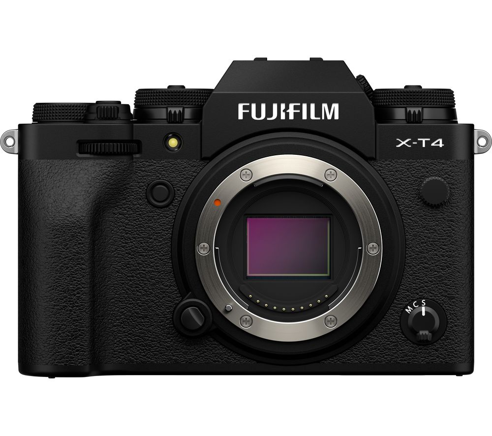Fujifilm X T4 Mirrorless Camera Black Body Only Black