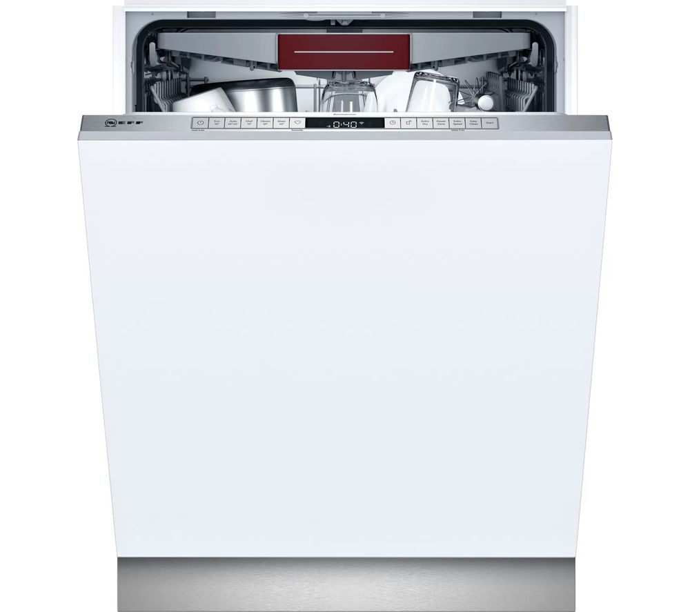 NEFF N50 S155HVX15G Full-size Fully Integrated WiFi-enabled Dishwasher