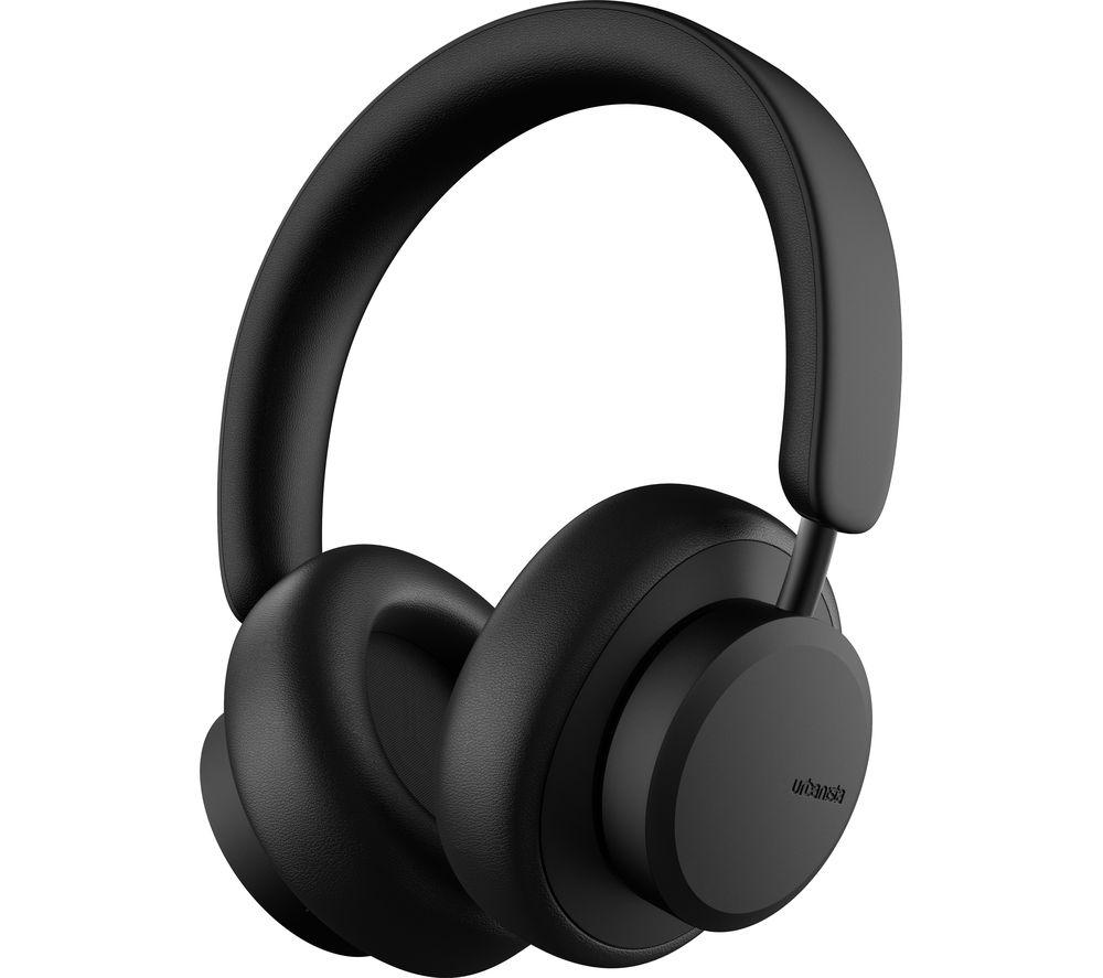 URBANISTA Miami Wireless Bluetooth Noise-Cancelling Headphones - Midnight Black, Black