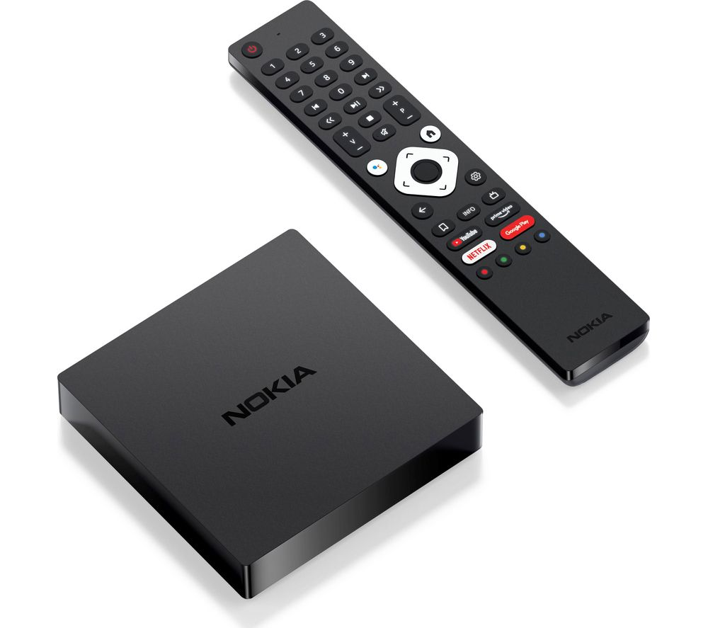 NOKIA 8000 Android TV Box with Chromecast & Google Assistant