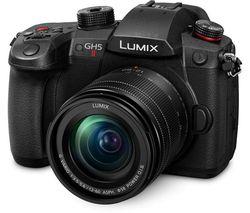 Lumix DC-GH5M2 Mirrorless Camera with 12-60 mm f/3.5-5.6 Lens - Black