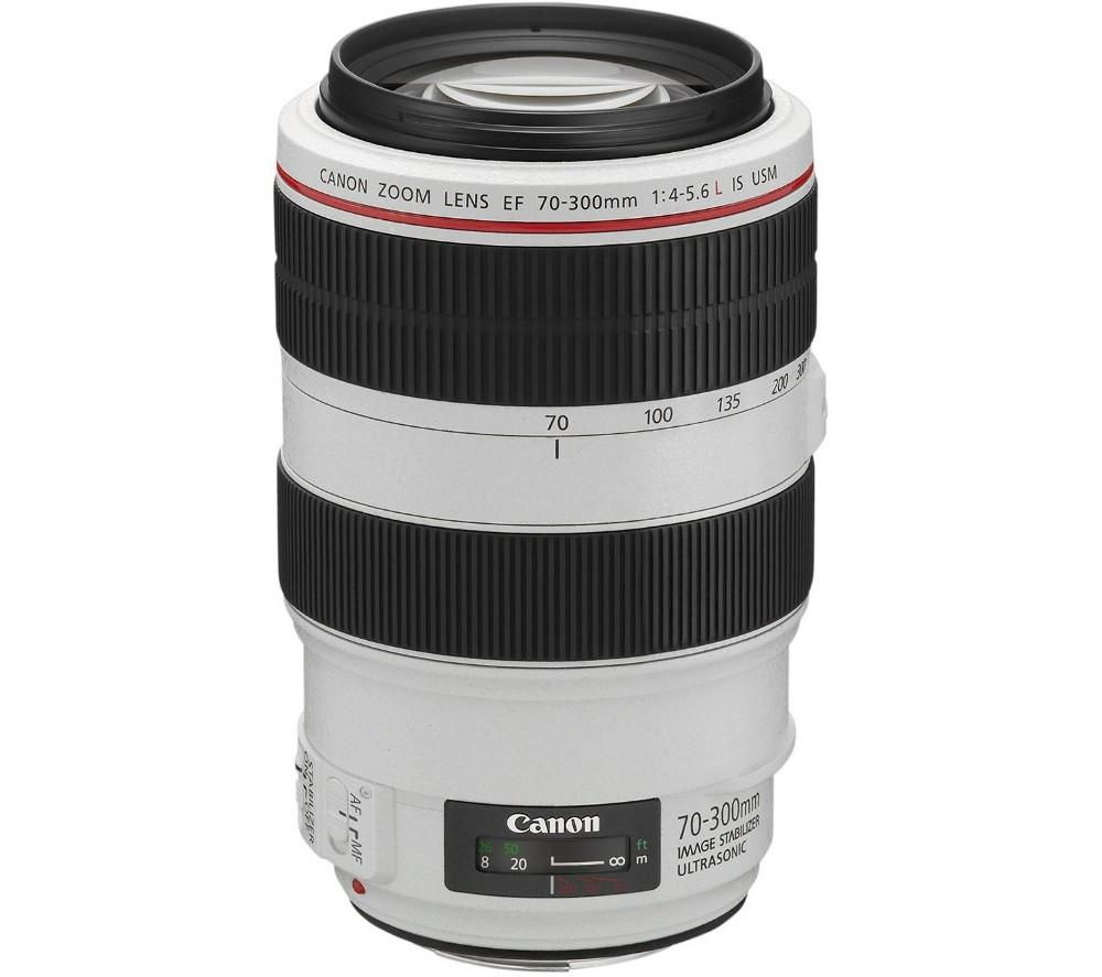 CANON EF 70-300 mm f/4-5.6L USM IS Telephoto Zoom Lens + DSLR Cleaning Kit