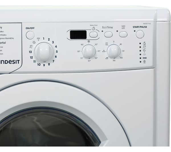 Buy Indesit Ecotime Iwdd7143 Washer Dryer White Free Delivery