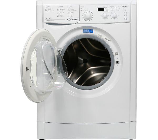 Cheap Washer Dryer Uk Part - 21: INDESIT Ecotime IWDD7143 Washer Dryer - White