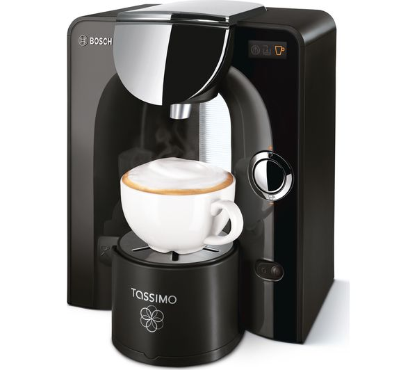 buy tassimo by bosch charmy coffee machine black chrome free delivery currys. Black Bedroom Furniture Sets. Home Design Ideas