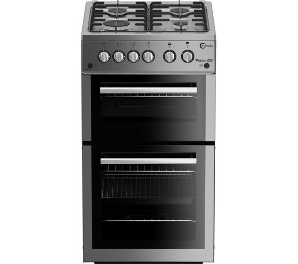 Image of FLAVEL MLB51NDS Gas Cooker - Silver