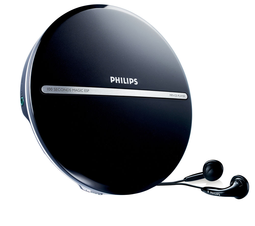 PHILIPS  EXP2546/12 Personal CD Player - Black, Black
