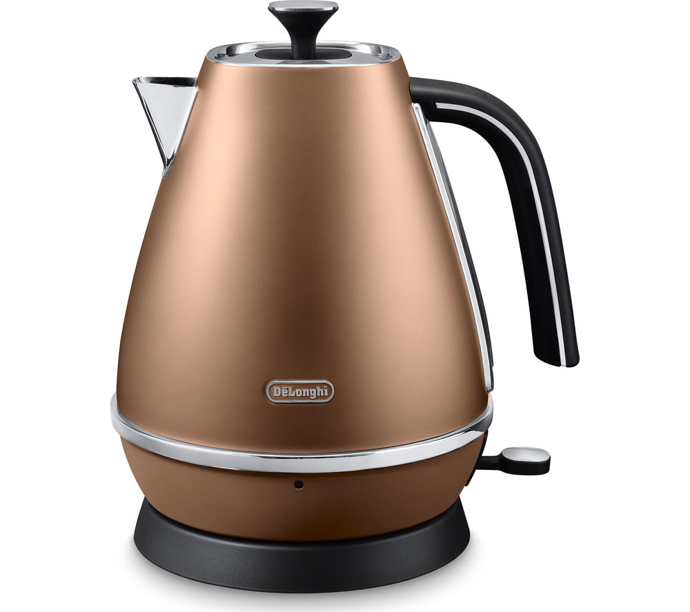 DELONGHI Distinta KBI3001.CP Jug Kettle – Copper