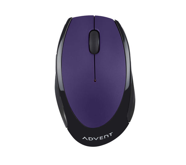 buy advent amwlpp15 wireless optical mouse purple free. Black Bedroom Furniture Sets. Home Design Ideas