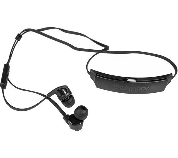 SKULLCANDY Smokin Bud 2 Wireless Bluetooth Headphones - Black   Chrome bb010a666efbc