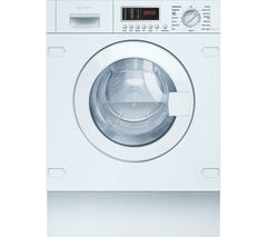 V6540X1GB Integrated Washer Dryer - White