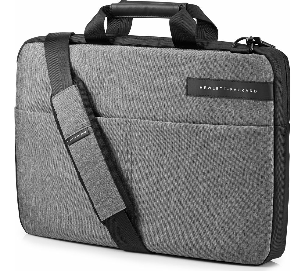 buy hp signature slim 15 6 laptop bag grey free. Black Bedroom Furniture Sets. Home Design Ideas