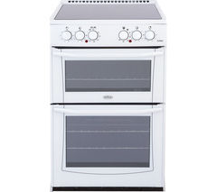 BELLING Enfield E552 55 cm Electric Ceramic Cooker - White