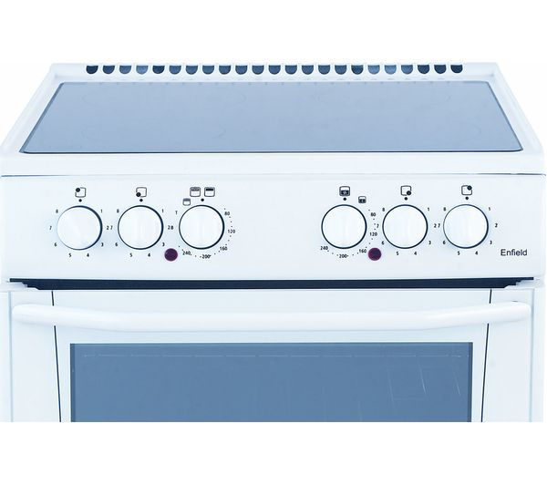 Buy BELLING Enfield E552 55 cm Electric Ceramic Cooker - White ...