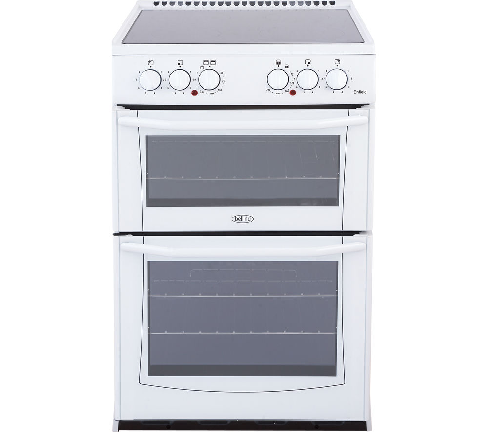 Compare retail prices of Belling Enfield E552 55cm Electric Ceramic Cooker to get the best deal online