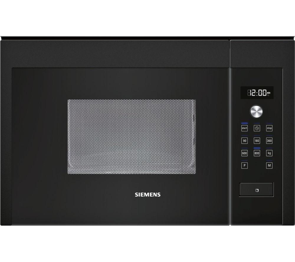 SIEMENS HF15M664B Built-in Solo Microwave - Black