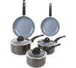 TOWER T80303 5-piece Non-Stick Pan Set - Graphite