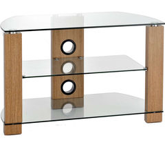 TTAP Vision 600 TV Stand - Light Oak