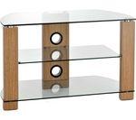 TTAP Vision 600 TV Stand - Light Oak