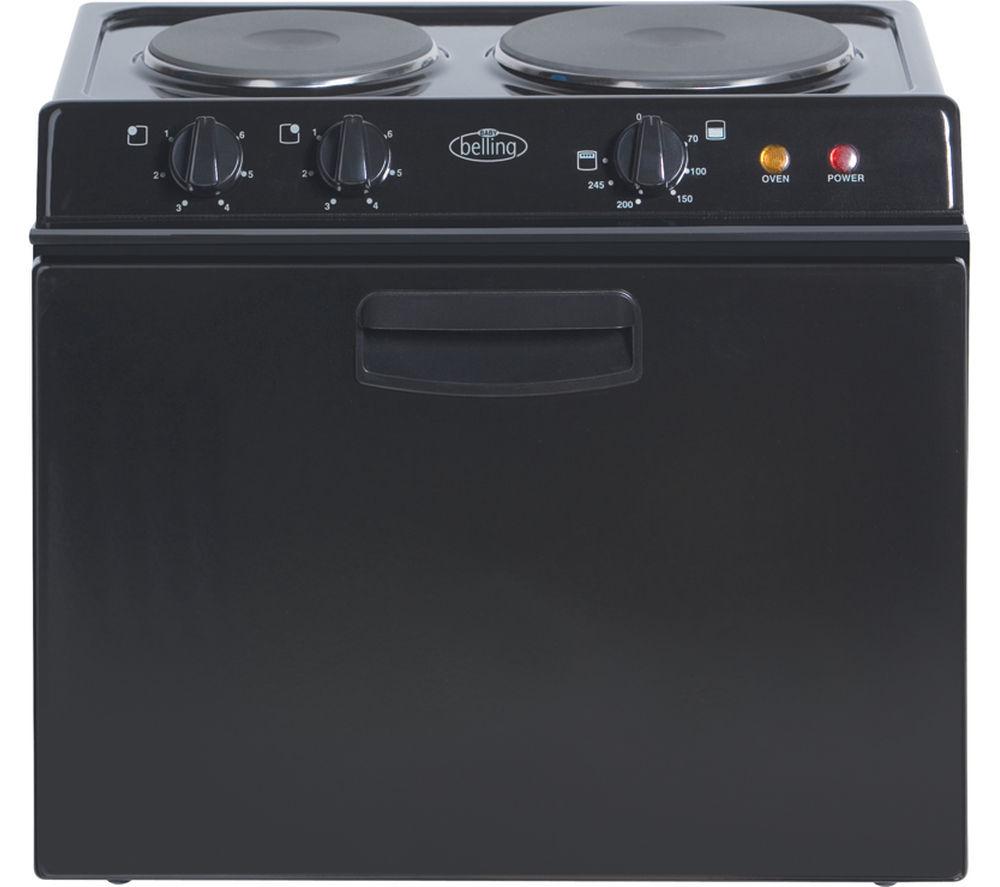 BELLING  Baby 121R Electric Tabletop Cooker – Black, Black
