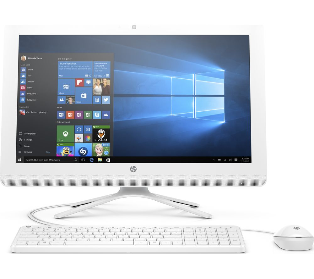 "HP 22-b061na 21.5"" All-in-One PC + Office 365 Personal - 1 year for 1 user"