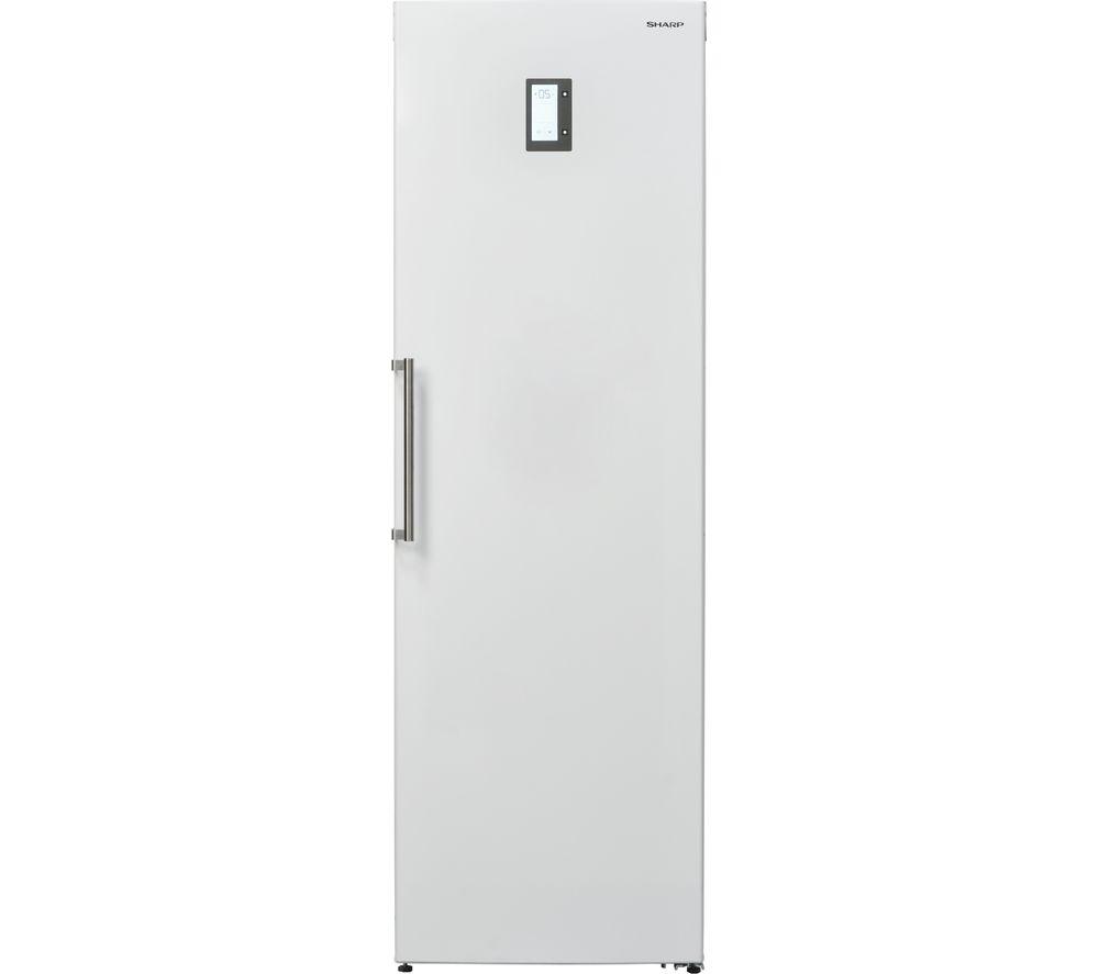 SHARP SJ-L1350E3W Tall Fridge - White