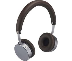 GOJI COLLECTION GTCONMO17 Premium Wireless Bluetooth Headphones - Mocha