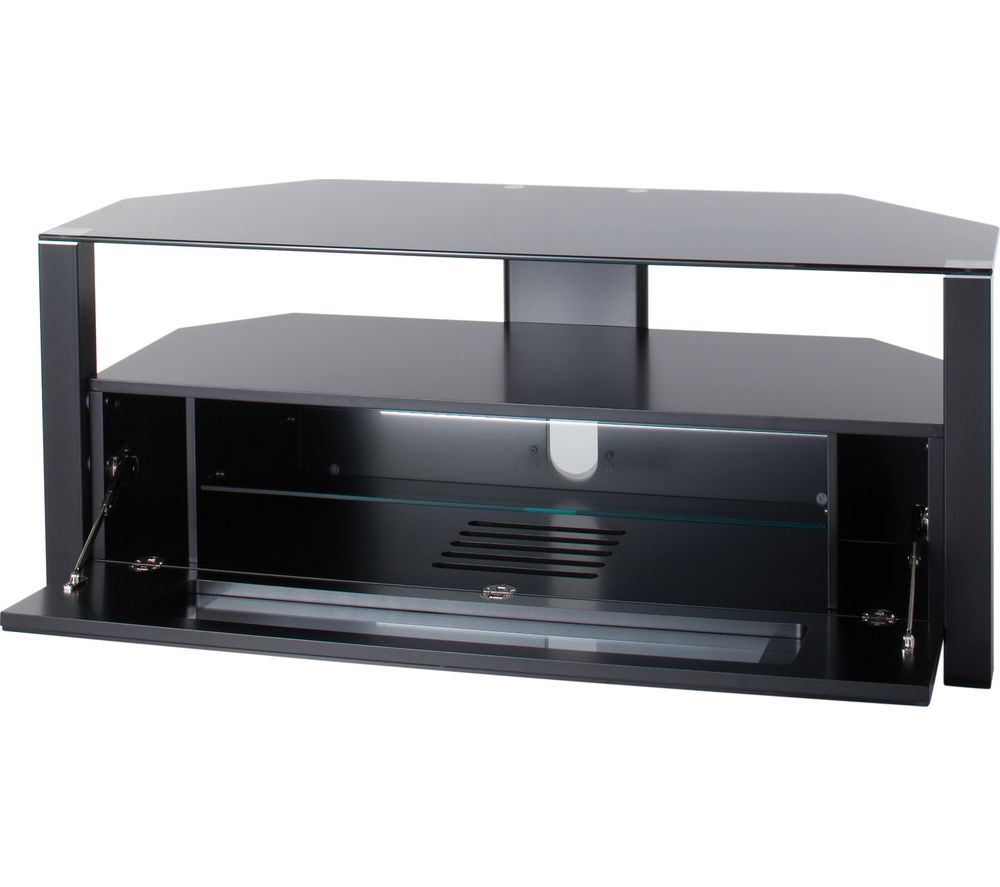 ALPHASON Ambri 1100 TV Stand - Black, Black