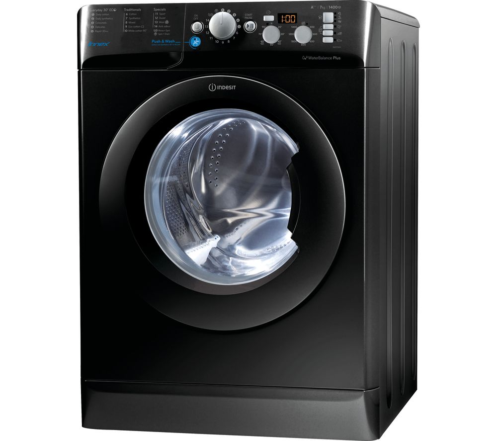 INDESIT BWD 71453 K 7 kg 1400 rpm Washing Machine - Black