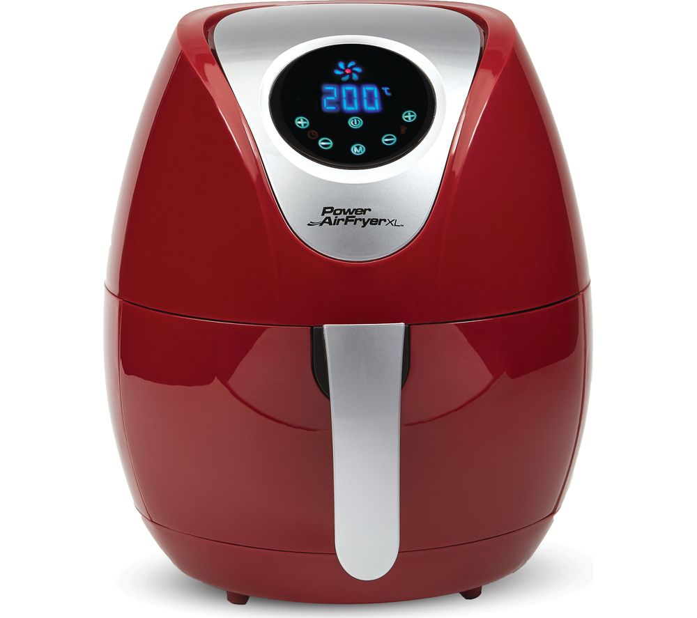 Buy POWER AIRFRYER XL Health Fryer - Red | Free Delivery