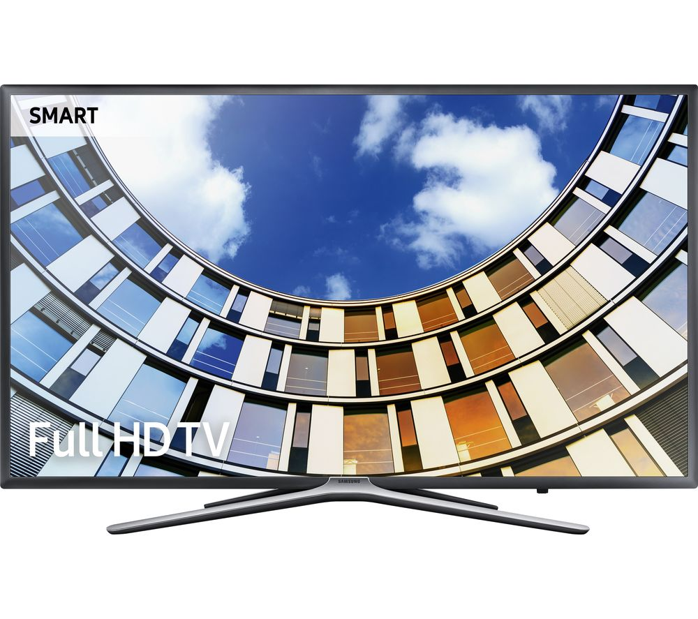 """SAMSUNG 49M5500 49"""" Smart LED TV + S1HDM315 HDMI Cable with Ethernet - 1 m"""