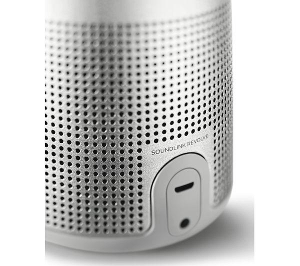 bose grey speakers. bose soundlink revolve portable bluetooth wireless speaker - grey bose speakers o