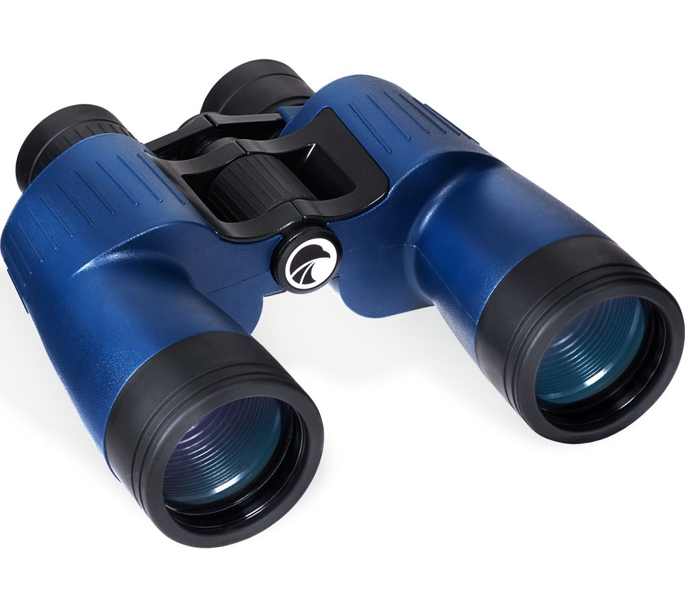PRAKTICA Marine Charter MHMC750BL 7 x 50 mm Binoculars - Blue