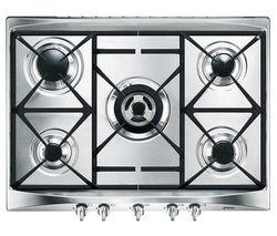 SMEG Cucina SR275XGH Gas Hob - Stainless Steel