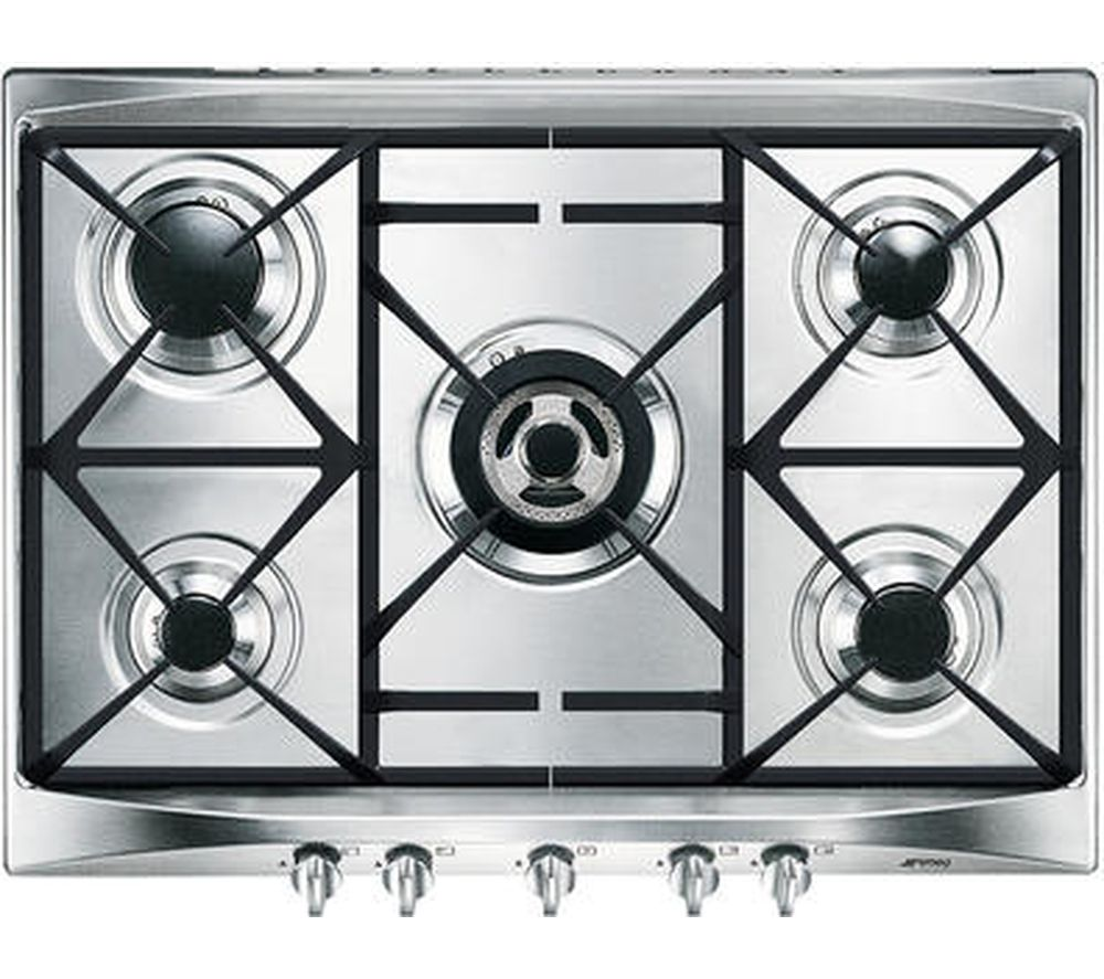 Buy SMEG Cucina SR275XGH Gas Hob - Stainless Steel | Free Delivery ...