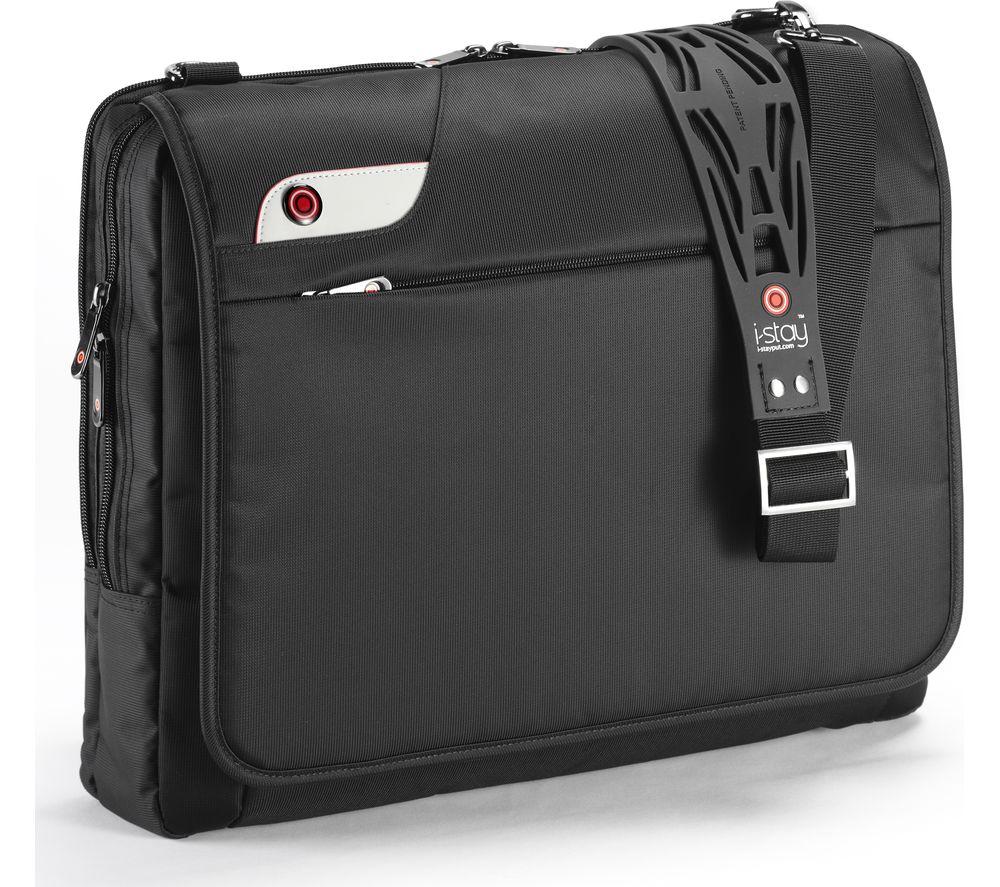 """I-STAY IS0103 16"""" Laptop Messenger Bag - Black"""