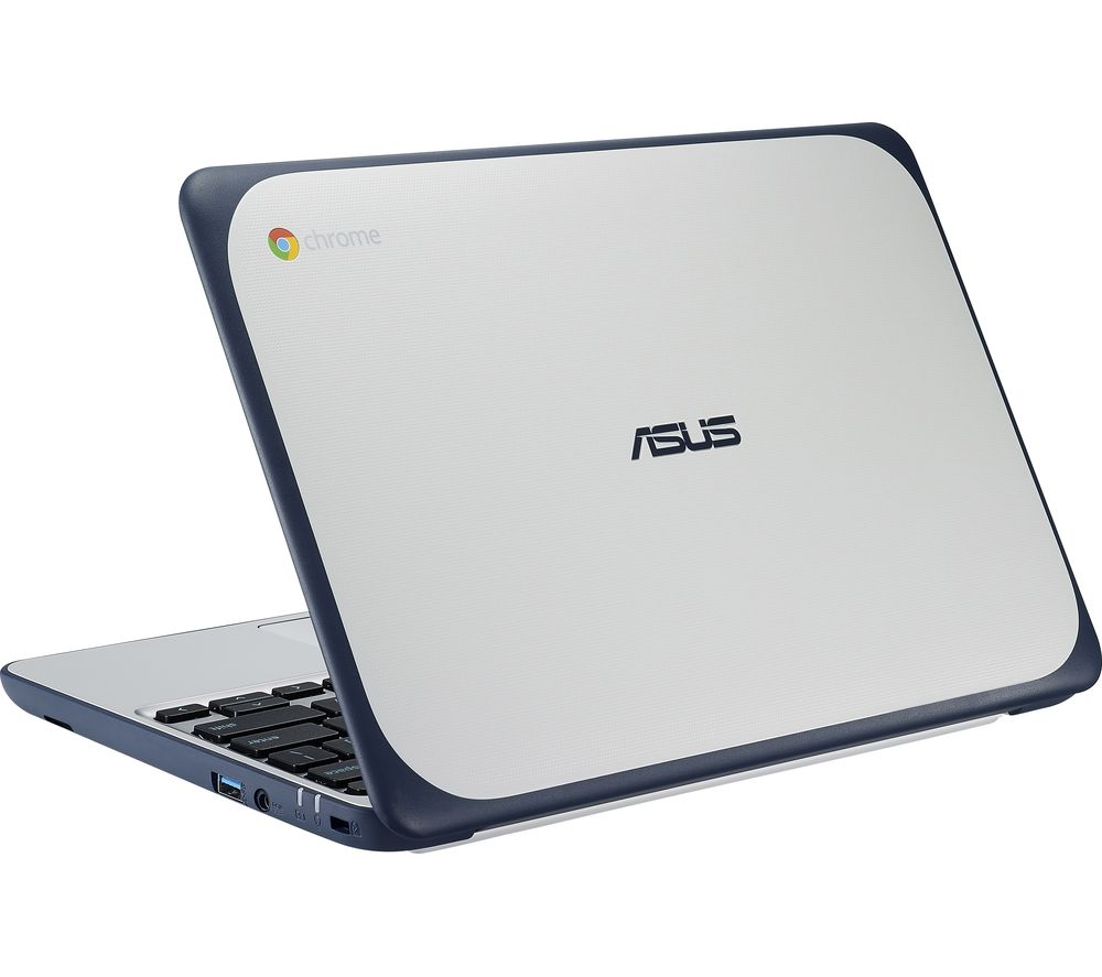 Compare retail prices of ASUS C202 11.6 Inch Chromebook - White to get the best deal online